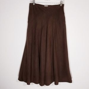 WHITE STAG Womens Brown Stretch Skirt